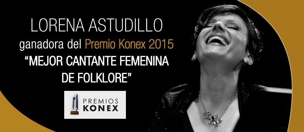 Lorena Astudillo premio Konex 2015