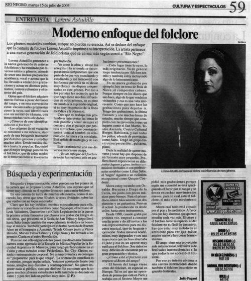 Prensa Rio Negro