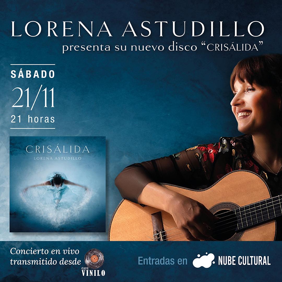 Lorena Astudillo en Vivo